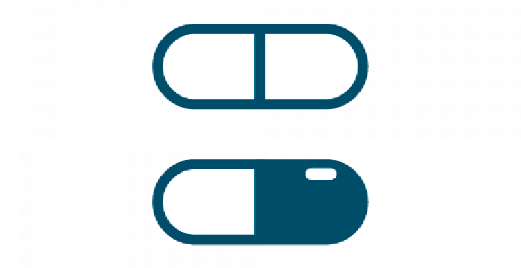 Graphic of several pills