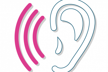 Listening ear graphic