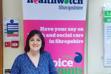 Healthwatch Shropshire at RSH